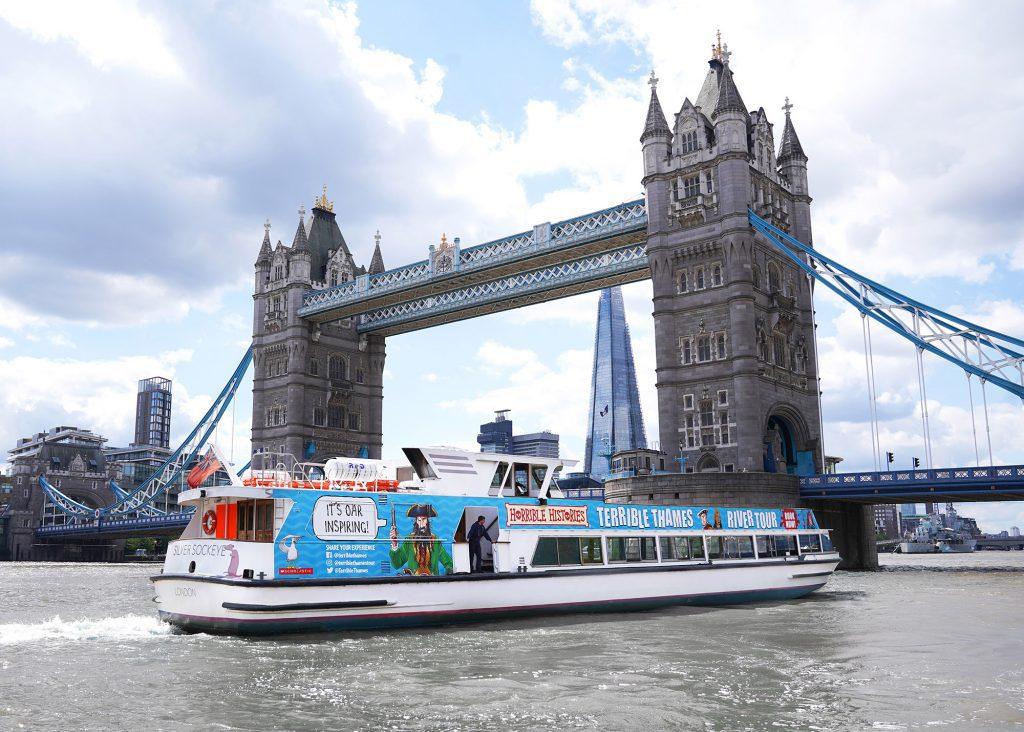 Horrible Histories Thames Tour - boat
