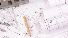 Electrical diagrams, accessories for use in engineer jobs and house under construction
