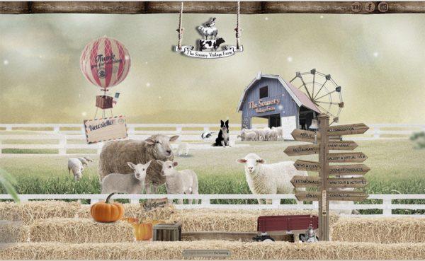 scenery vintage farm