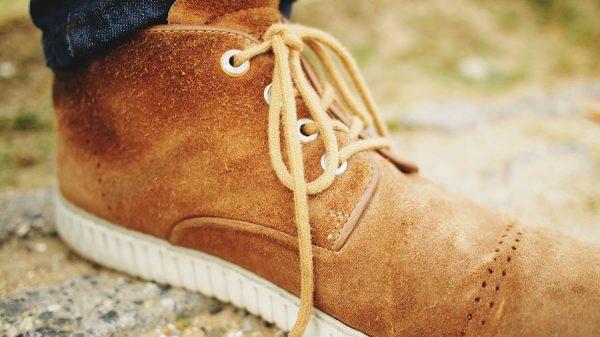 รองเท้าหนังกลับ