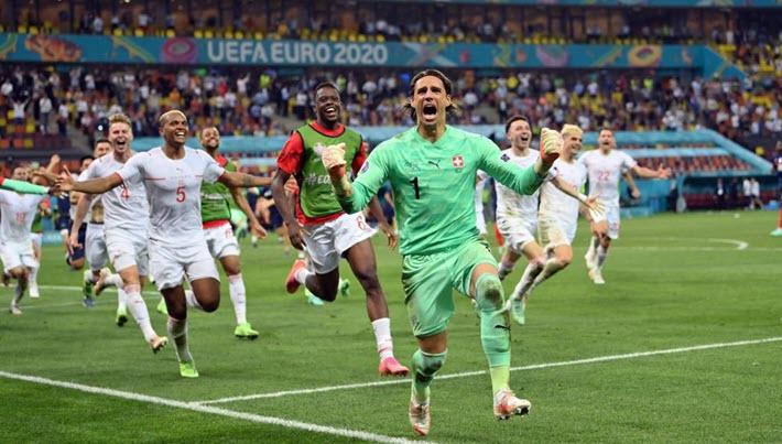 ฝรั่งเศส 3-3(4-5) สวิตเซอร์แลนด์