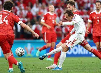 รัสเซีย 1-4 เดนมาร์ก