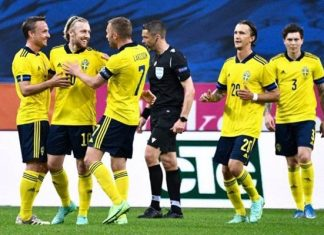 สวีเดน 3-1 อาร์เมเนีย
