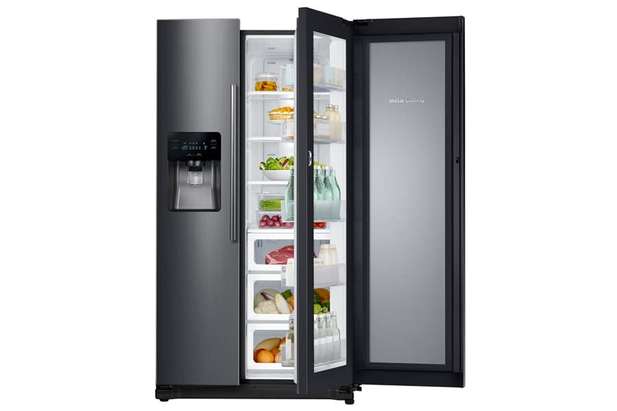 Samsung Black Edition refrigerados side