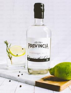 botella de gin provincia gin chileno