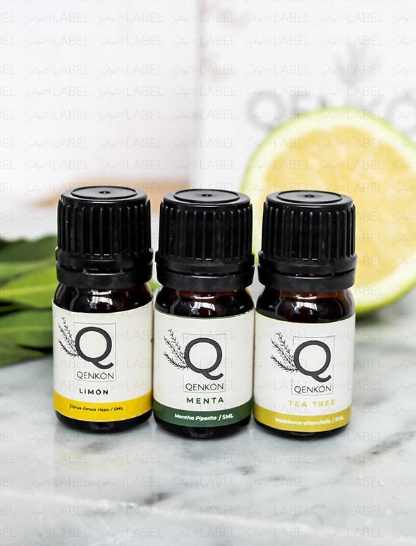 aceites esenciales pack de relajación en shop the label