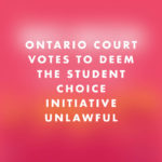 A Win for Students!