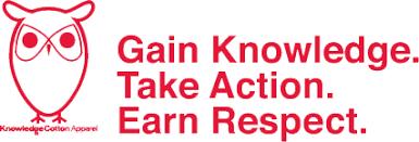 Knowledge Cotton Apparel Logo