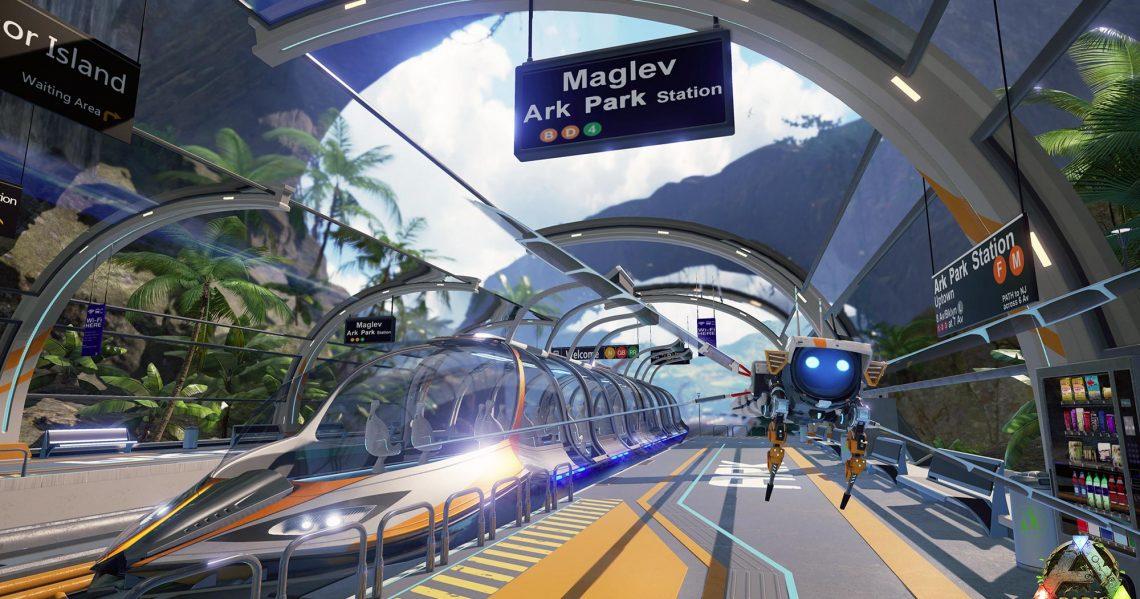 Ark Park 9 minutes de gameplay en plus sur VR4player