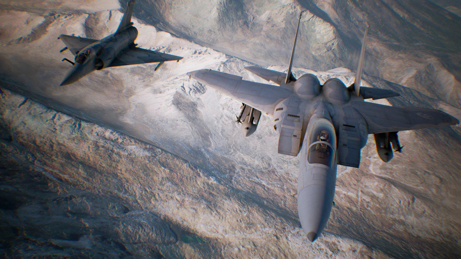 PSVR Ace Combat 7