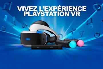 PlayStation VR : Sony annonce une liste de plus de 60 jeux !