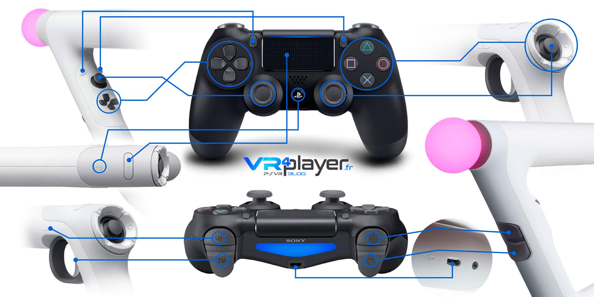 AIM Controller sur PSVR