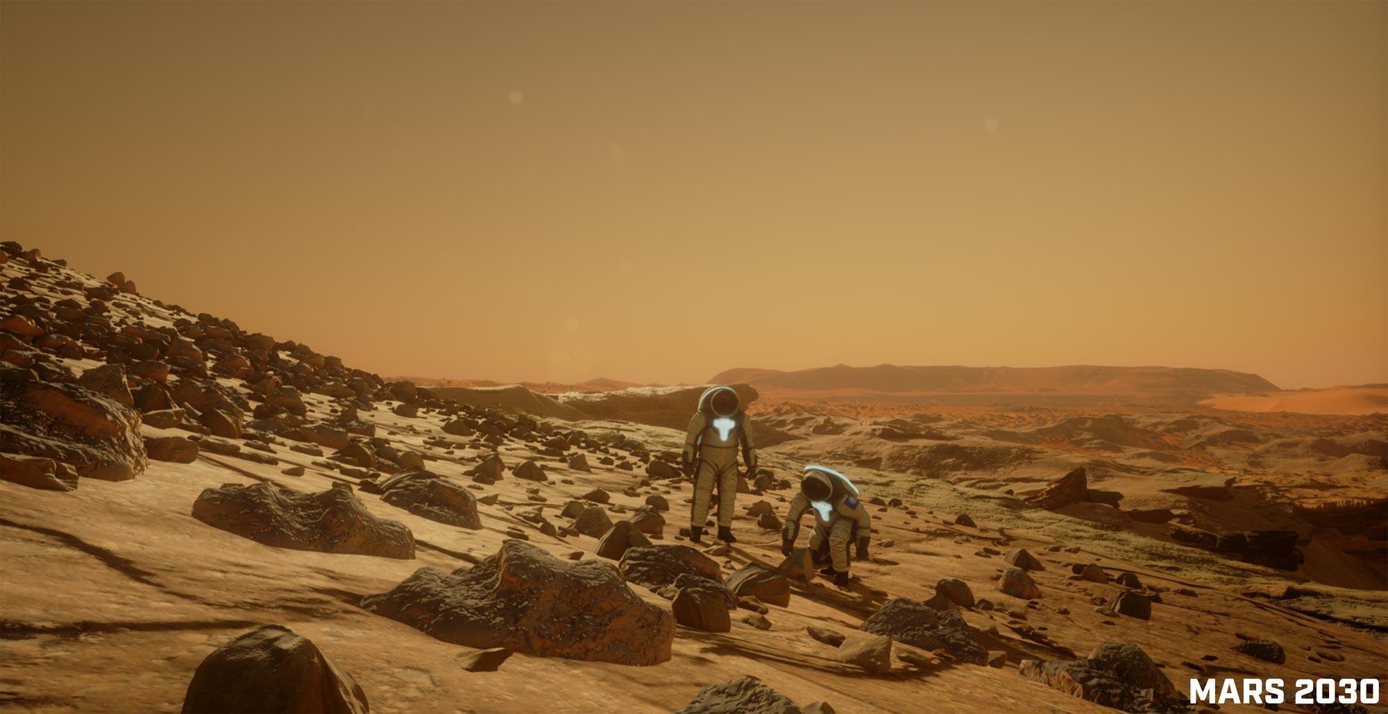 Mars 2030 Experience PSVR