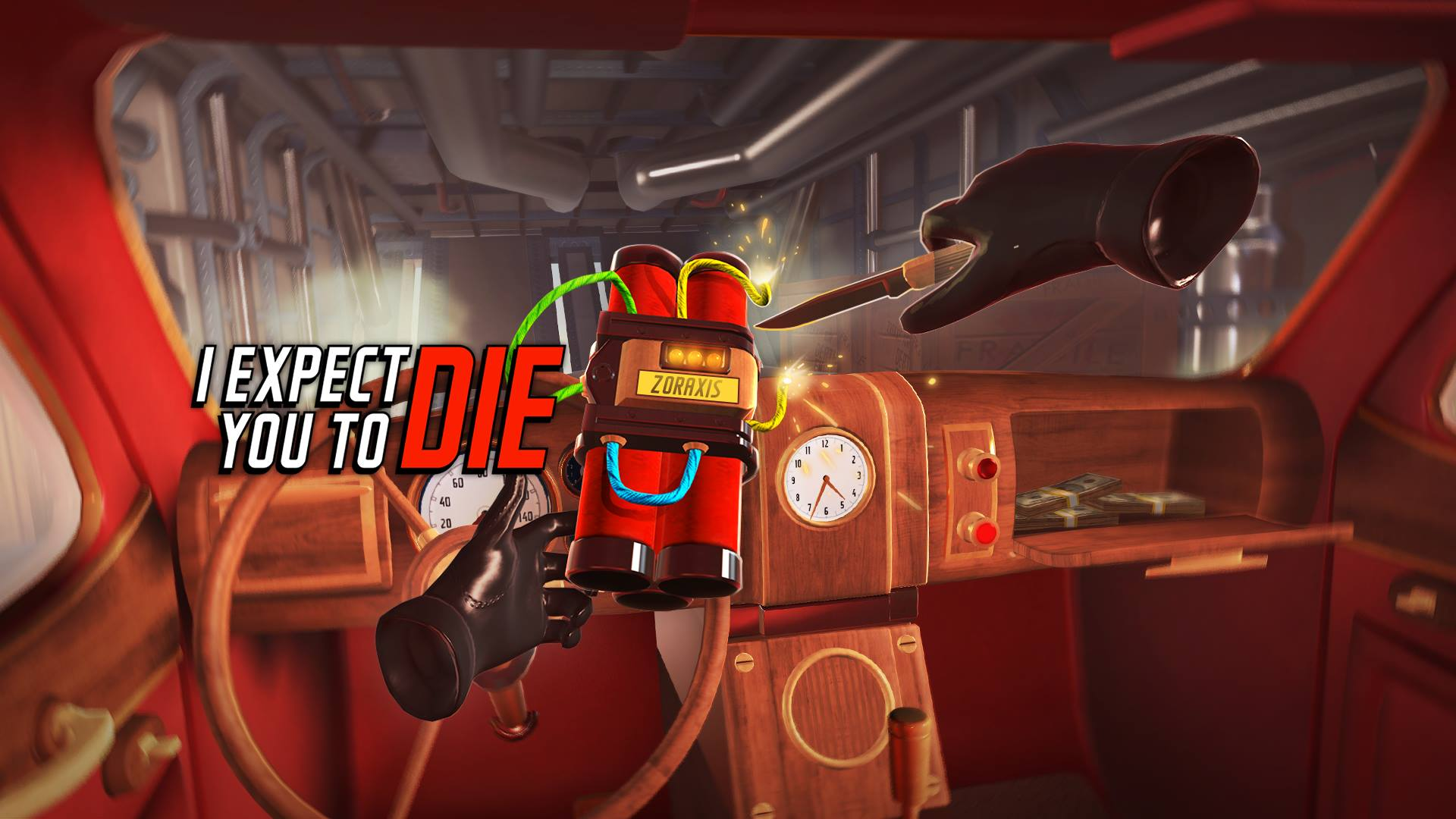 i expect you to die - psvr