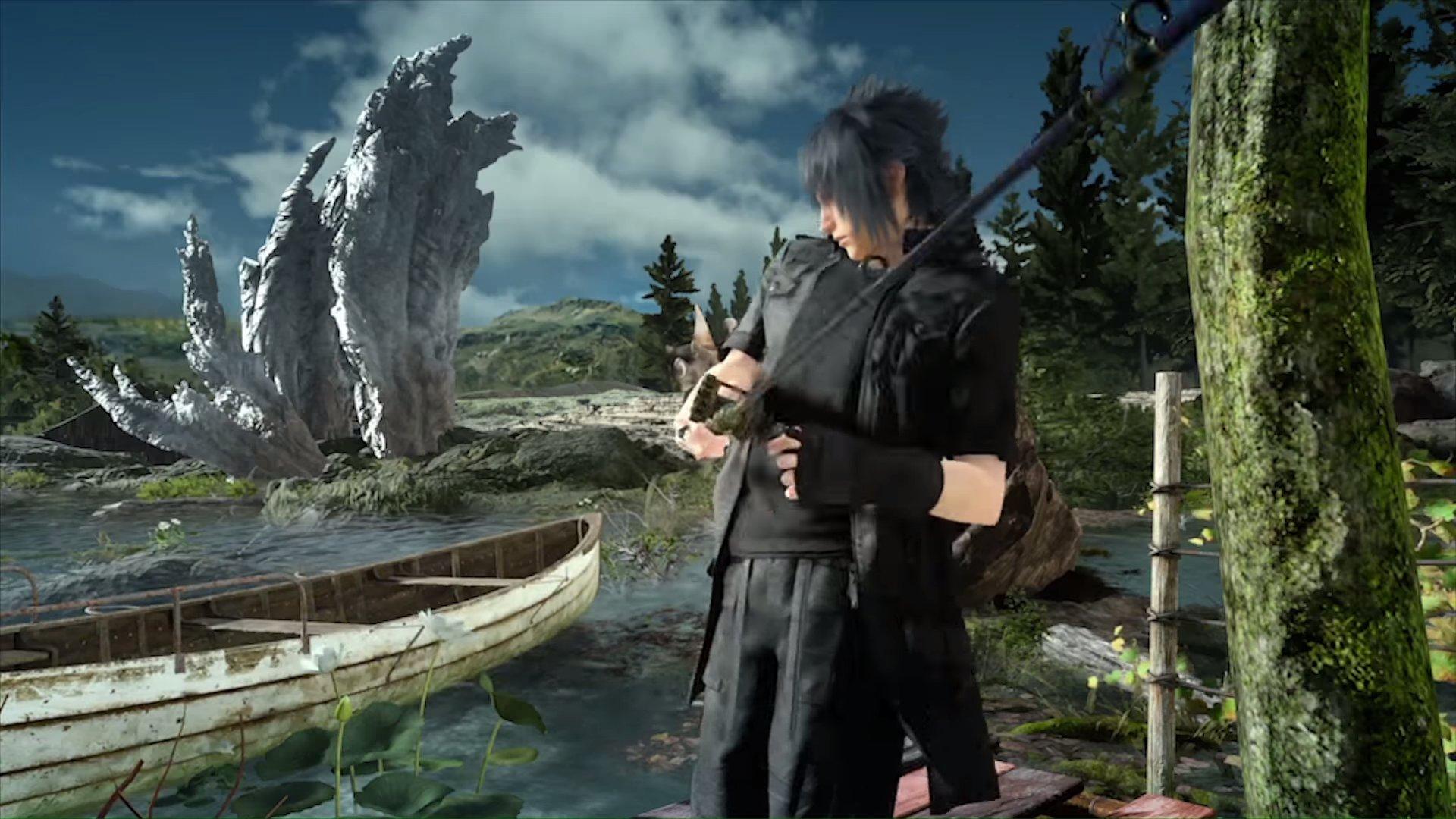 Final Fantasy Monster of the Deep-PSVR