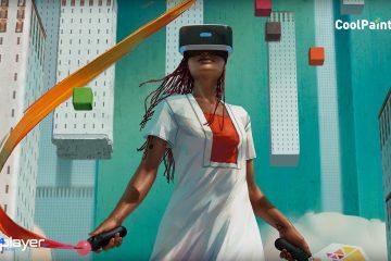 PS4 PSVR : CoolPaintr VR, l'Artiste c'est vous sur Playstation VR