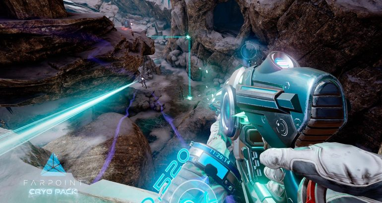 Farpoint Cryo Pack sur Playstation VR