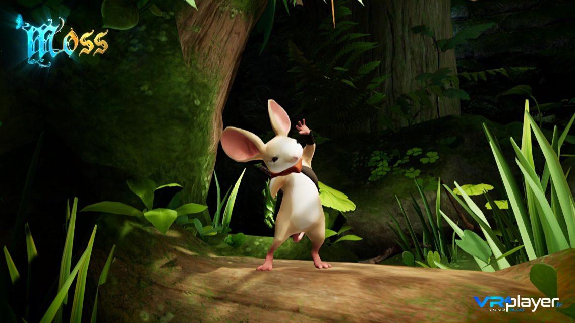 Moss sur Playstation VR PSVR