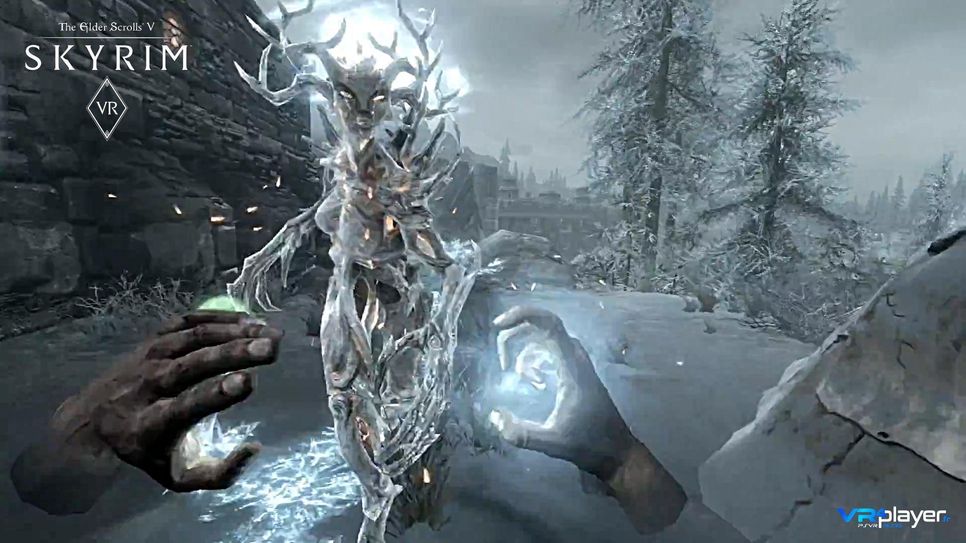 Skyrim VR sur Playstation VR