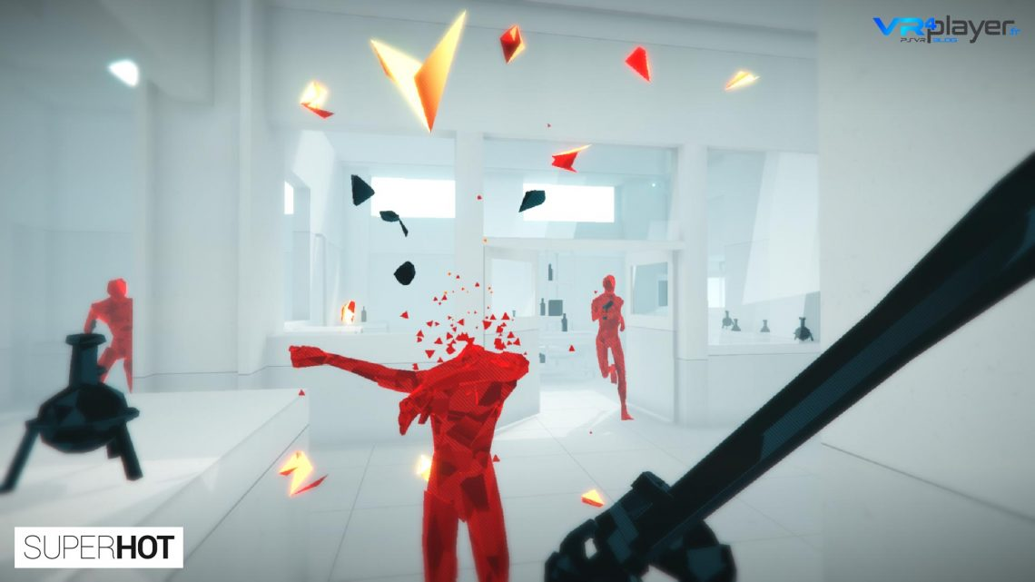 Superhot VR sur Playstation VR