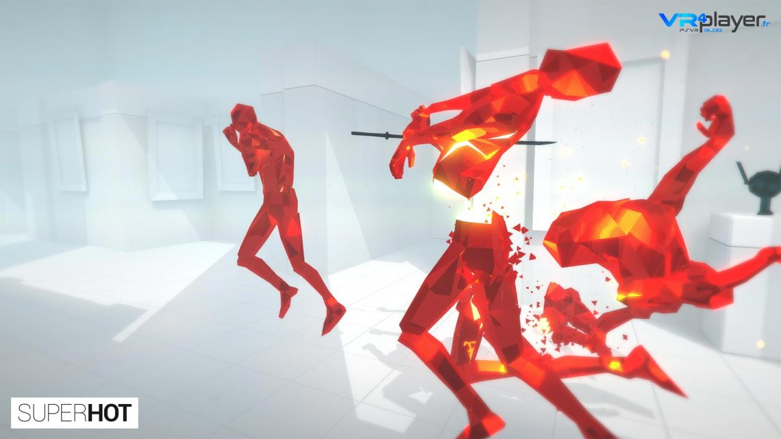 Superhot VR sur Playstation VR
