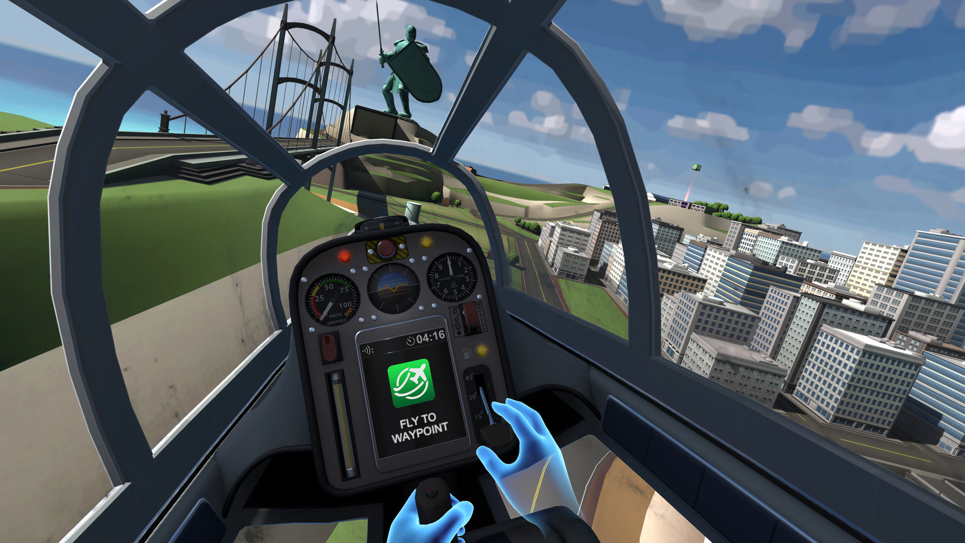 Ultrawings sur Playstation Vr