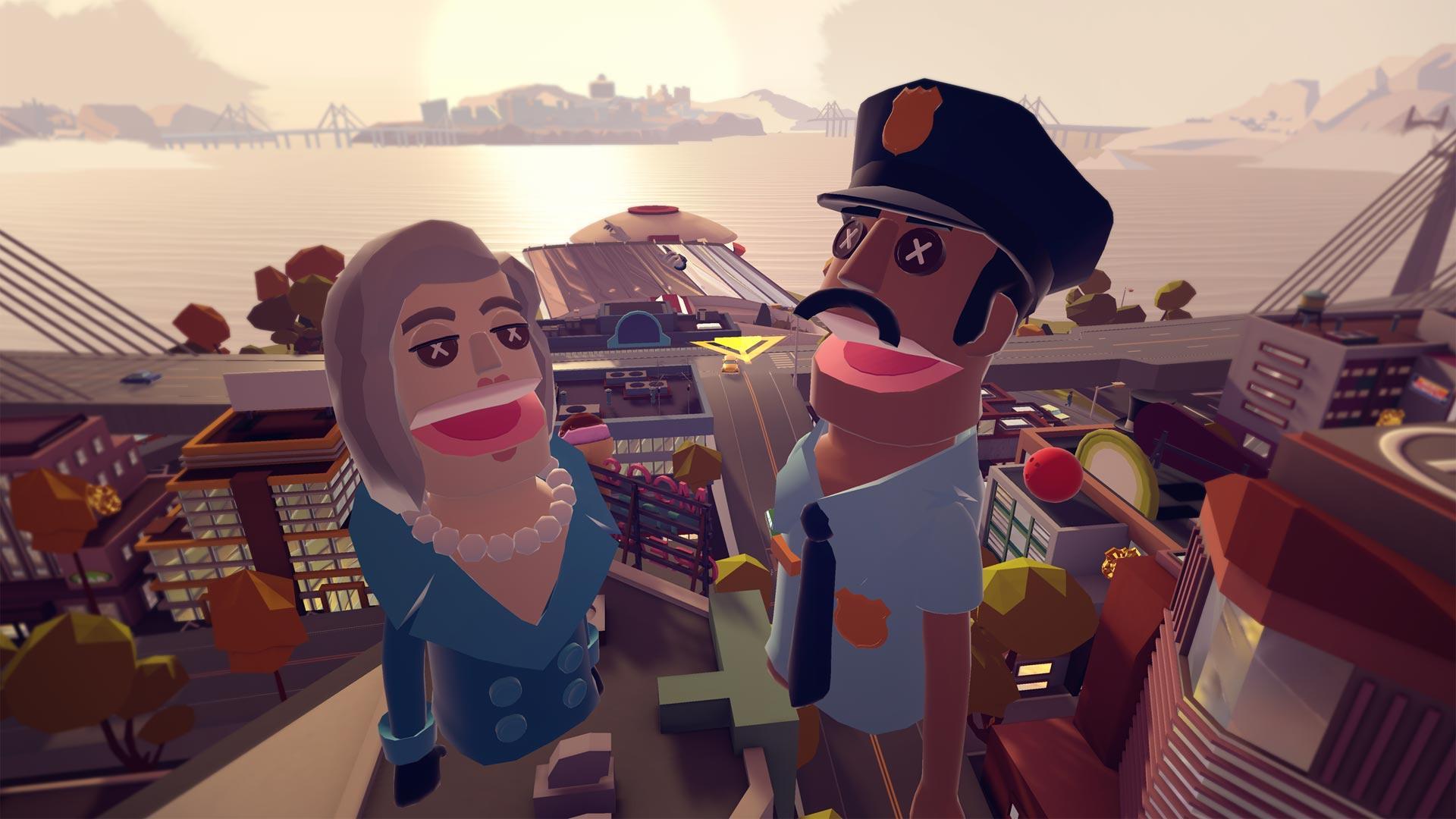 Giant Cop sur Playstation VR