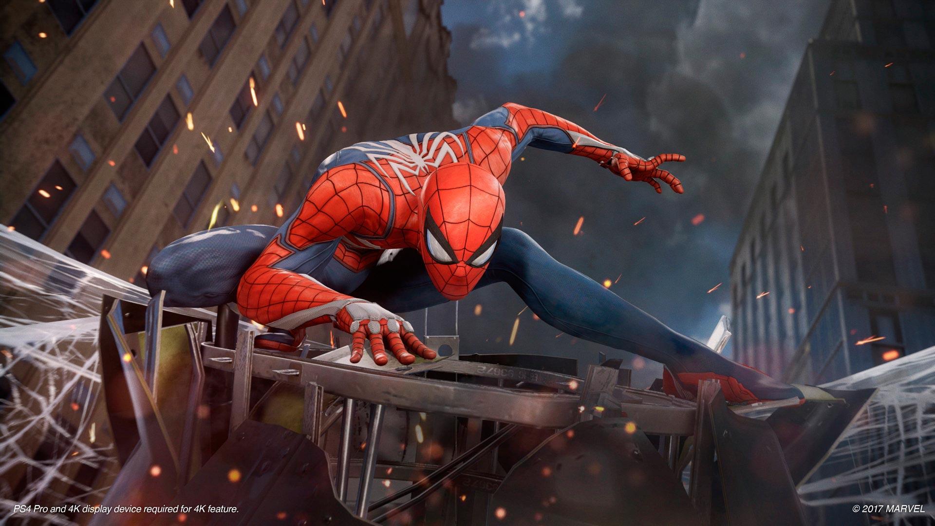 SpiderMan Homecoming sur Playstation VR