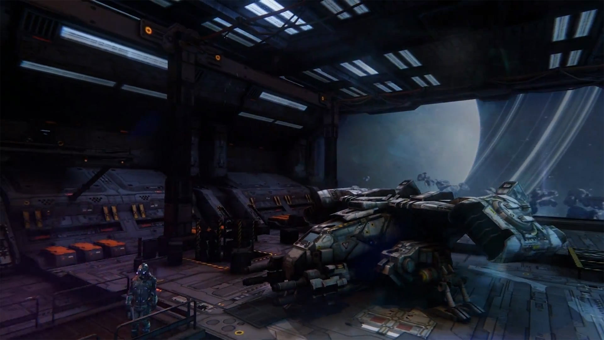 End Space sur PlayStation VR