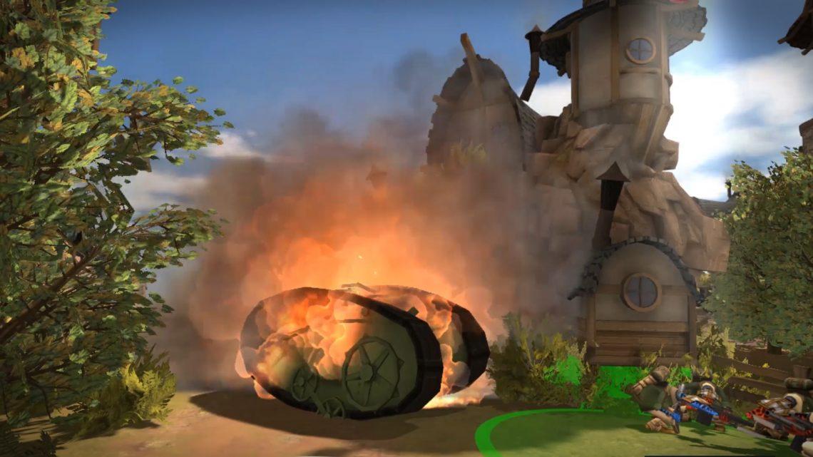 Quar Battle for Gate 18 sur PlayStation VR