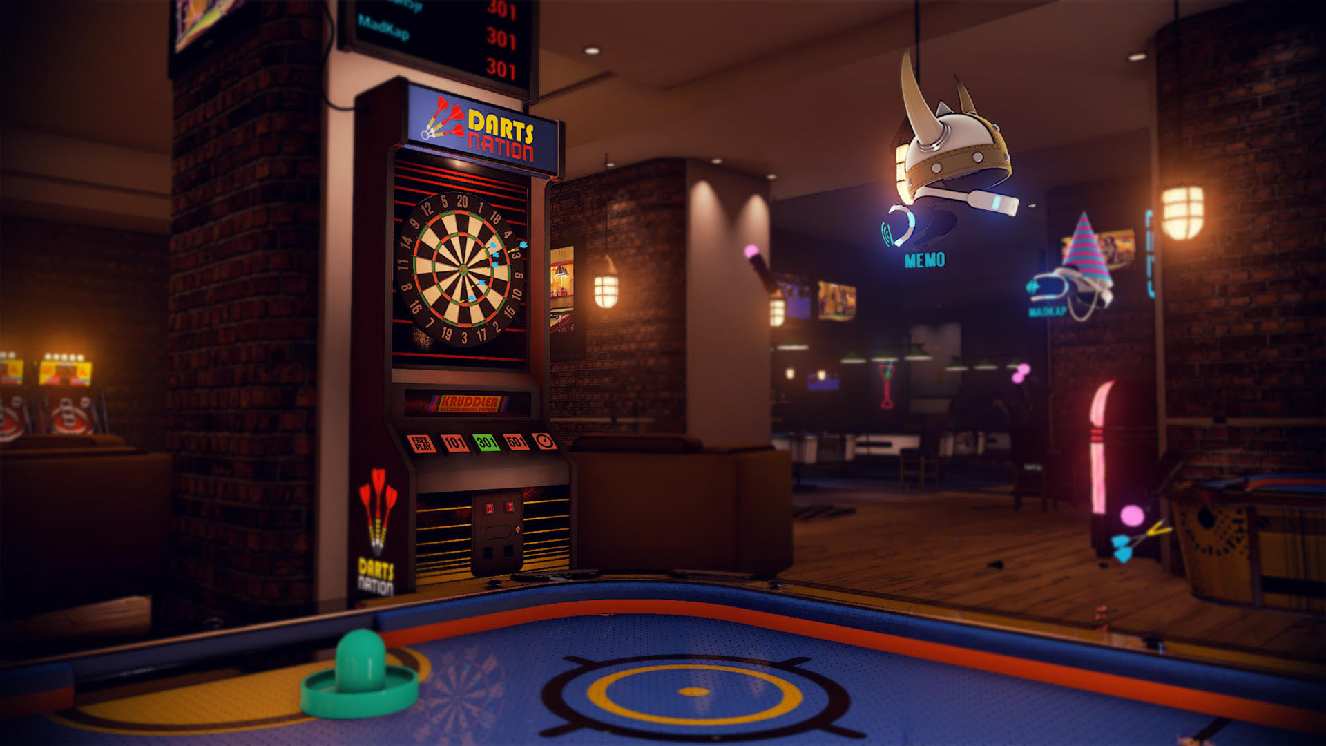 Sports Bar un jeu à l'univers social sur Playstation VR