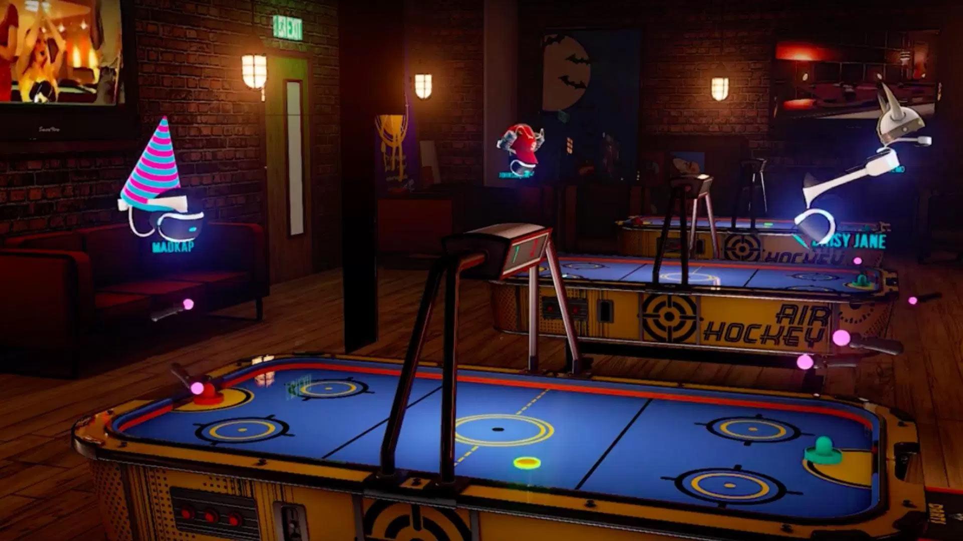 Sports Bar un jeu à l'univers social sur Playstation VR