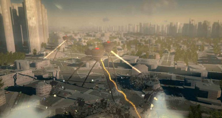 Megaton Rainfall sur PlayStation VR