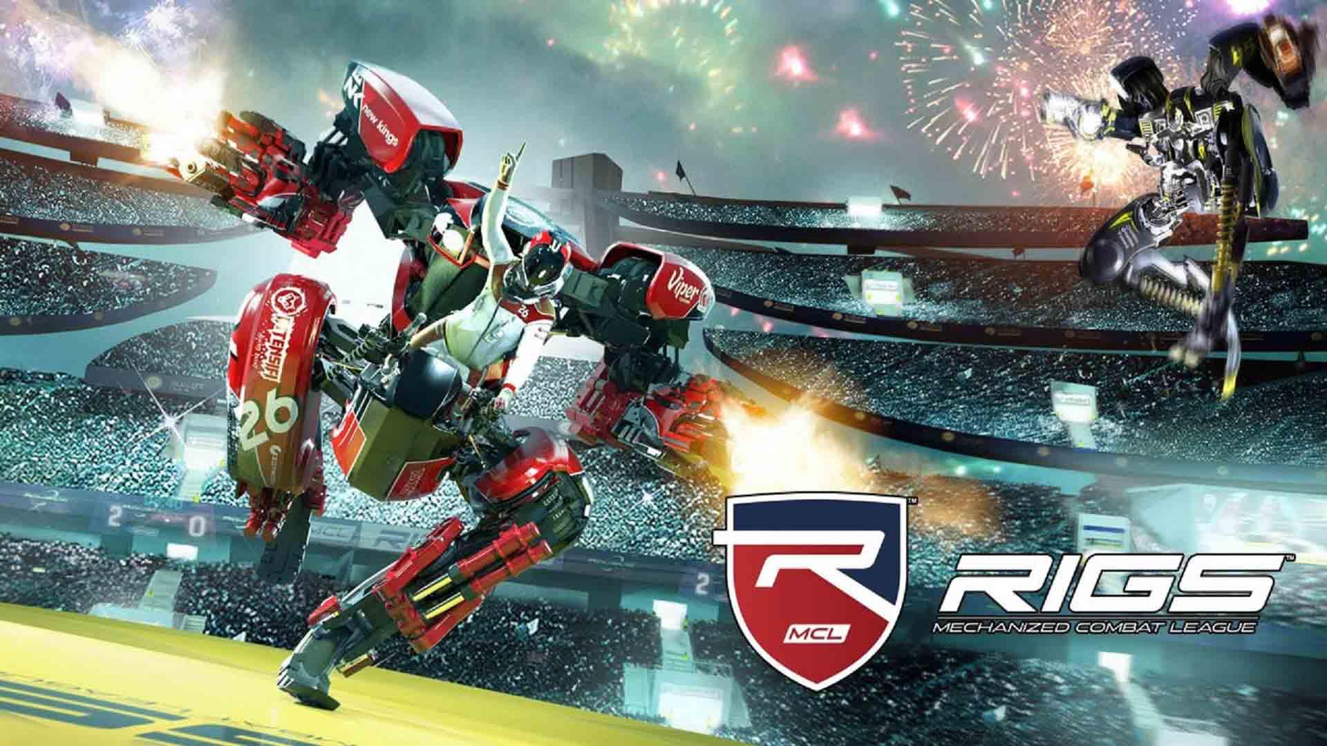 Rigs Mechanized Combat League sur PlayStation VR
