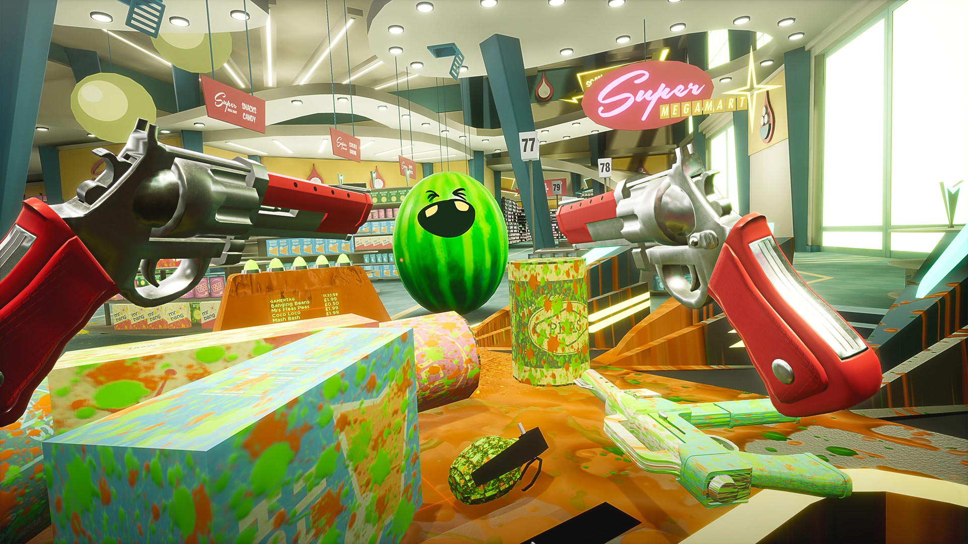 Shooty Fruity VR4player