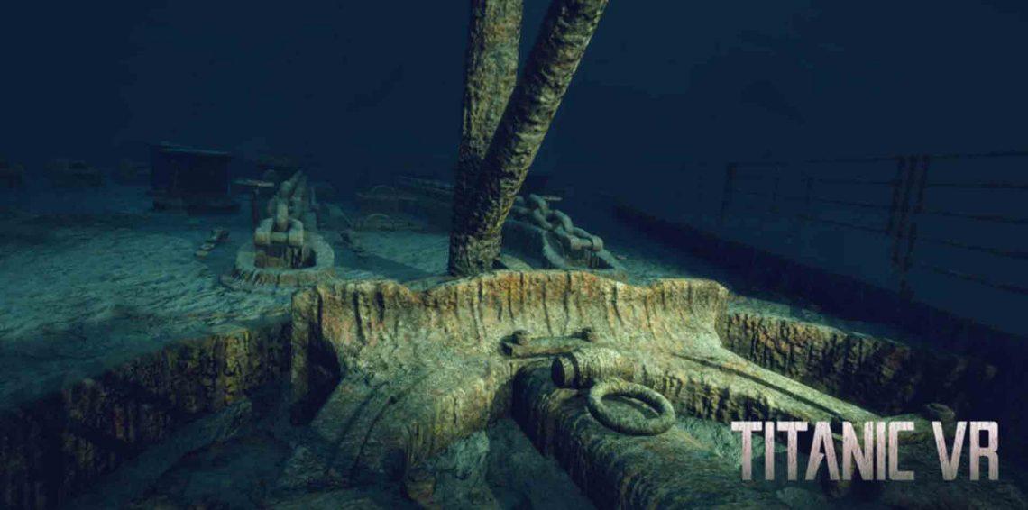 Titanic VR sur PlayStation VR