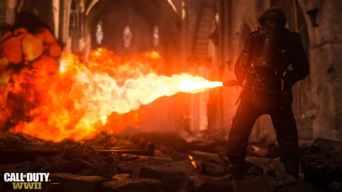 Call of Duty WWII sur PS4 et PS4 Pro