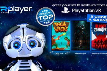 Concours PlayStation VR : Gagnez 3 codes et sélectionnez le Top10 du PSVR