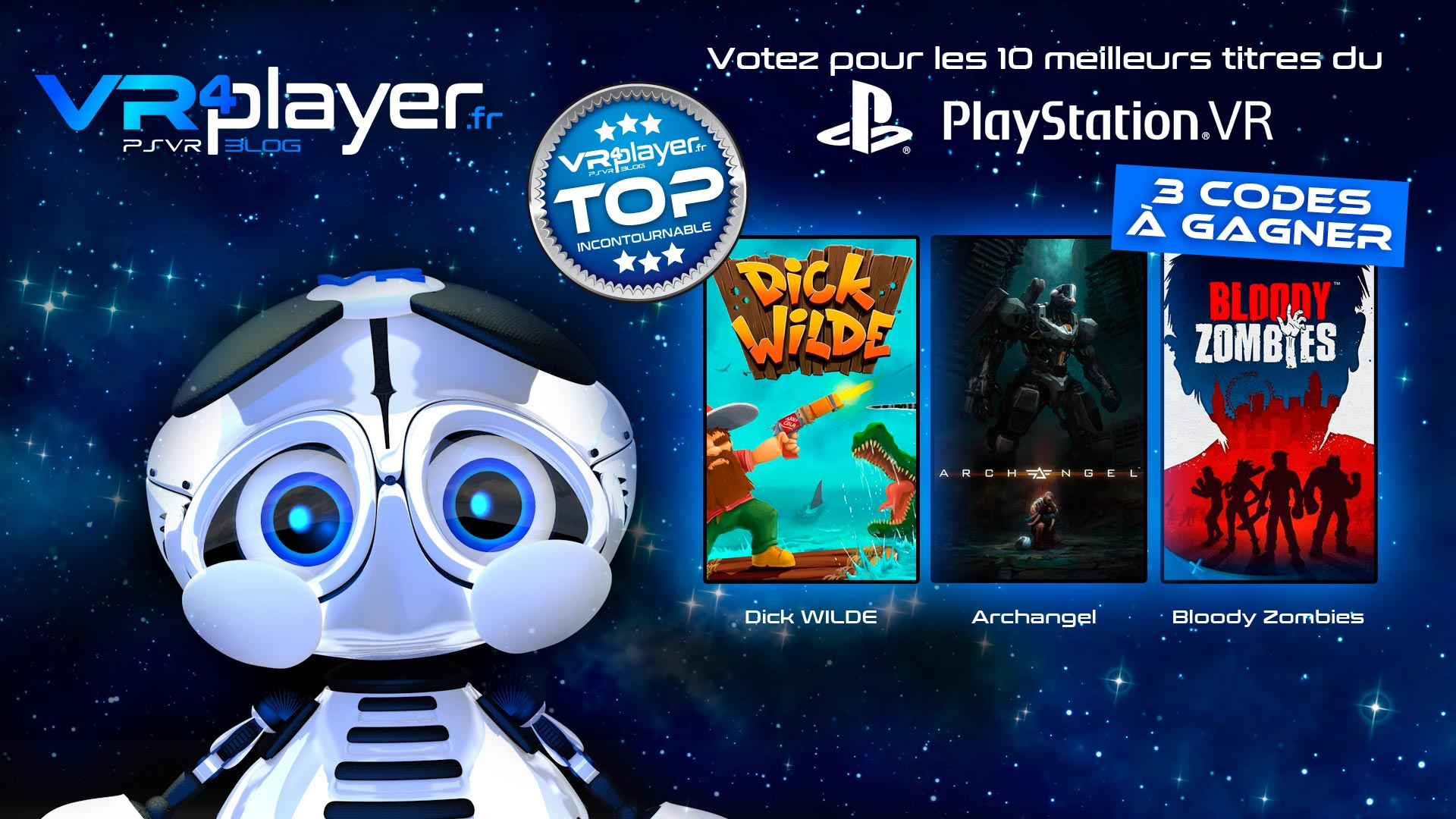 concours top 10 PlayStation VR