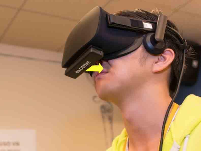 VAQSO VR compatible PlayStation VR