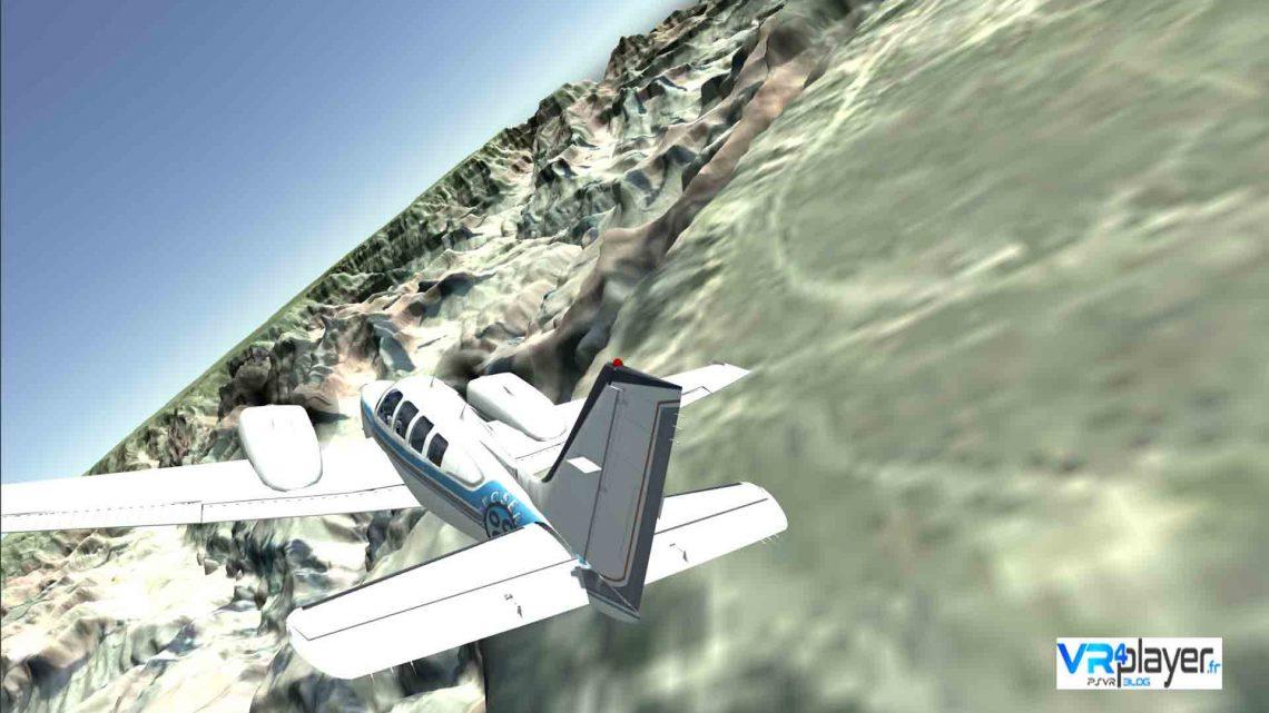 VR Flight Simulator sur PSVR