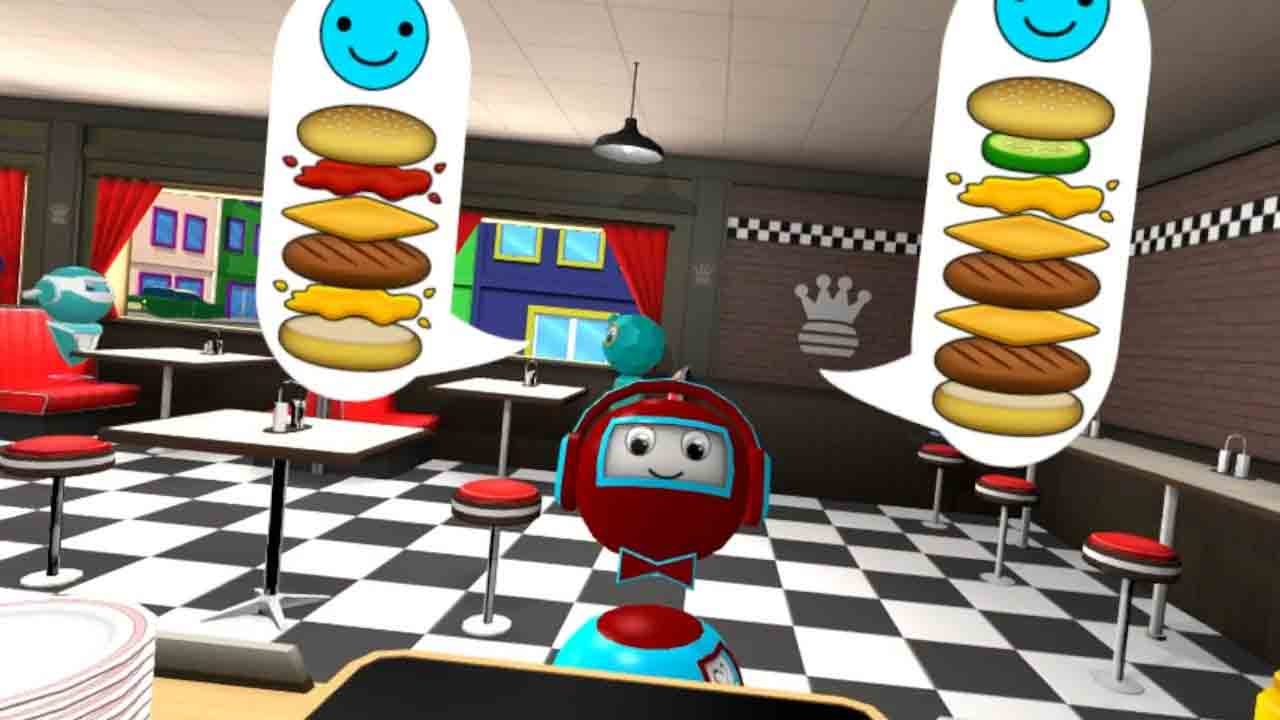 VR the Diner Duo sur PlayStation VR