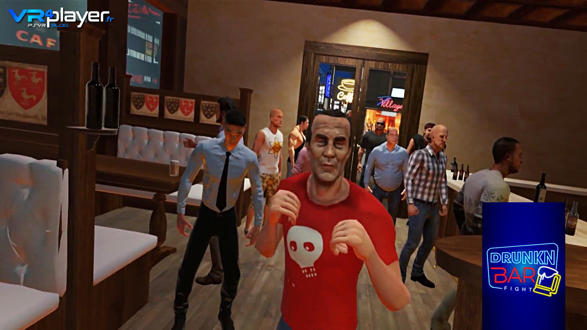 Drunkn Bar Fight VR4player.fr