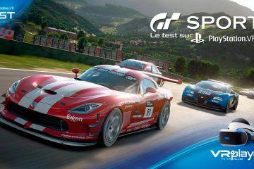 Gran Turismo Sport : Test, Que vaut le mode PlayStation VR de GT Sport ?