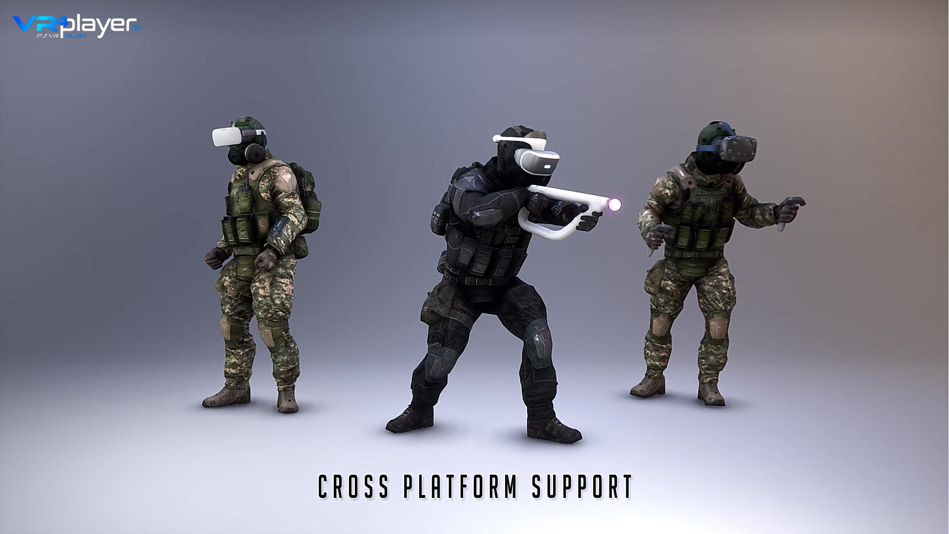 ALVO PSVR, FPS Multi Crossplay compatible AIM - VR4Player.fr