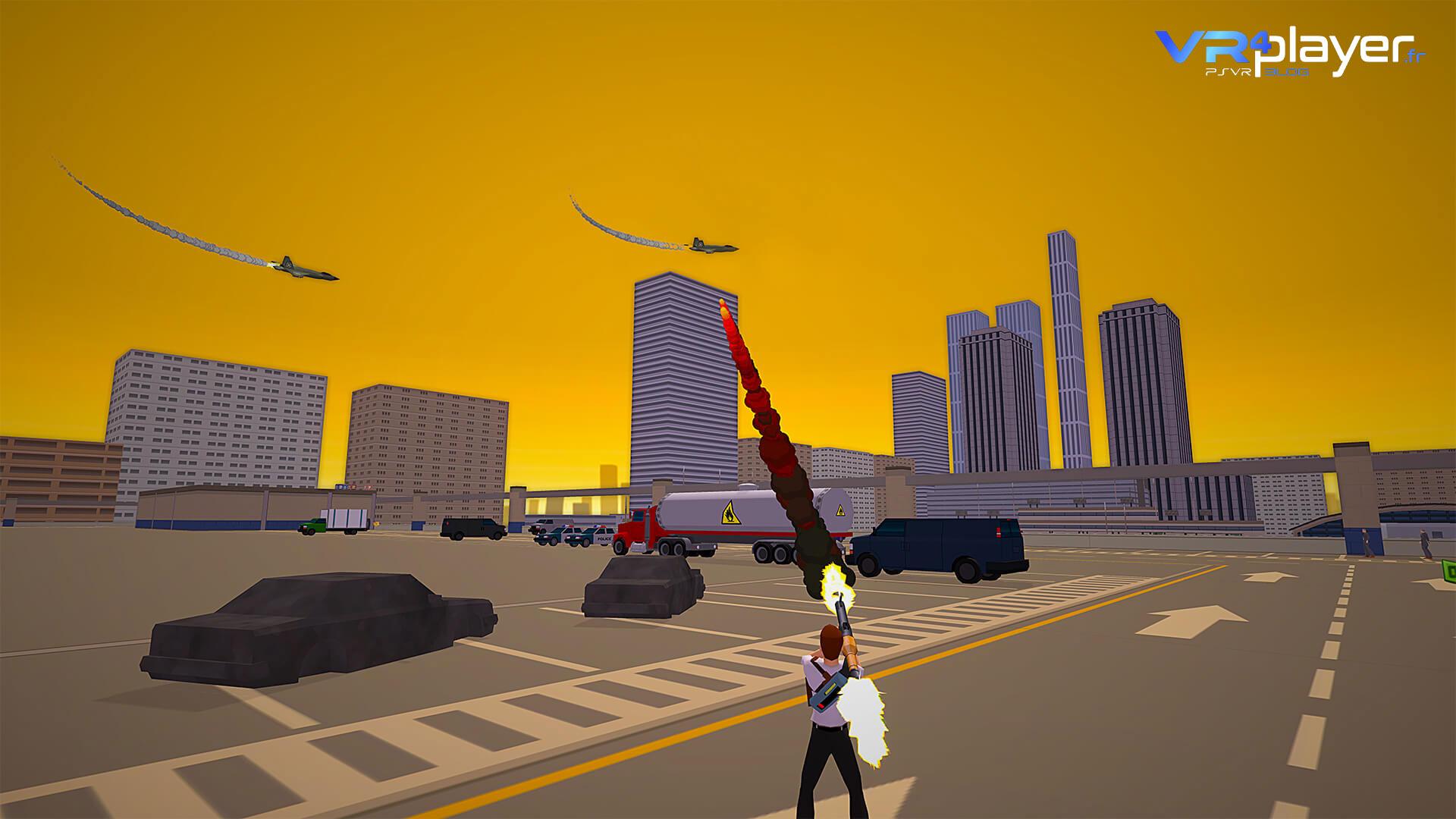City Avenger sur PlayStation VR