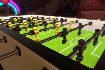 PlayStation VR : Foosball VR, simulation de babyfoot sur PSVR