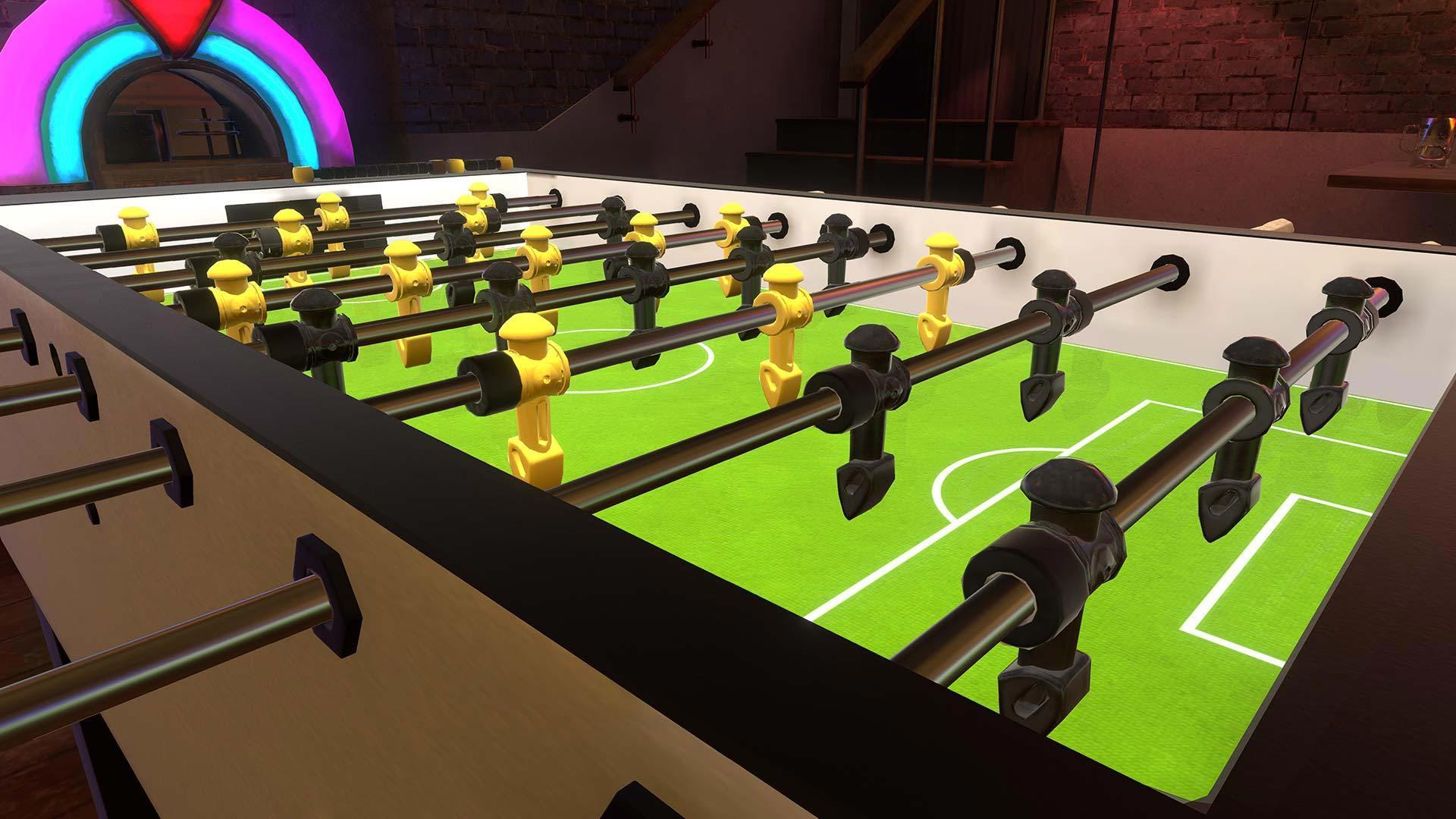 Foosball VR sur PlayStation VR annoncé.