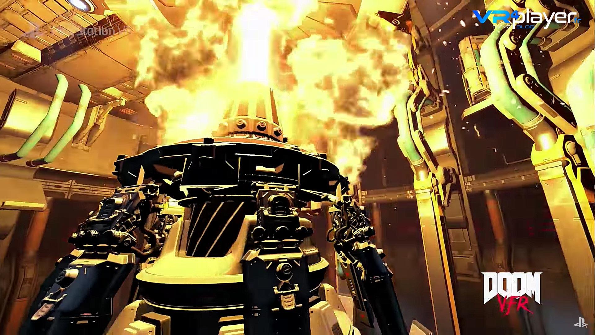 Doom VFR PSVR - VR4Player