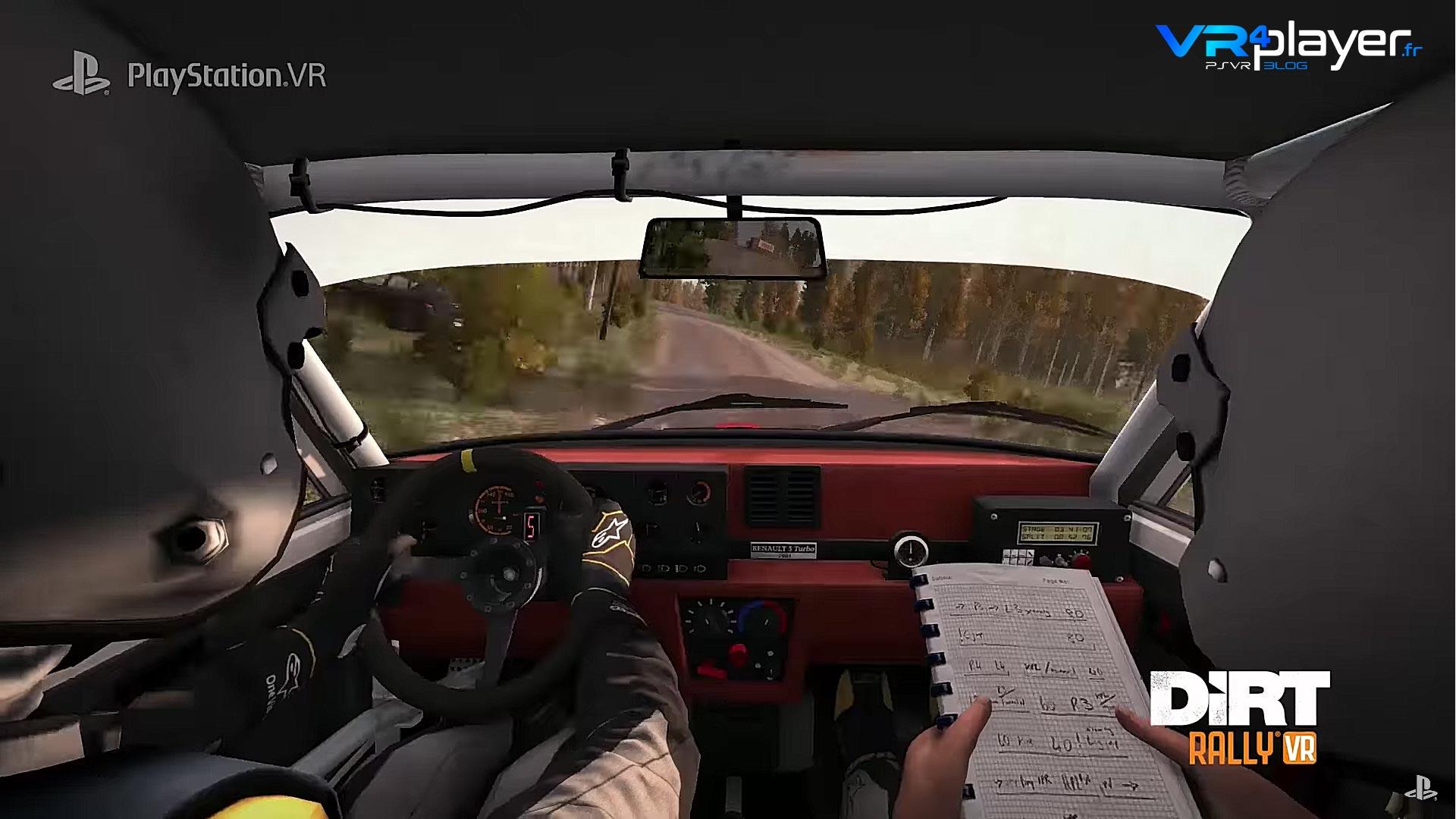 Dirt Rally VR PSVR - VR4Player